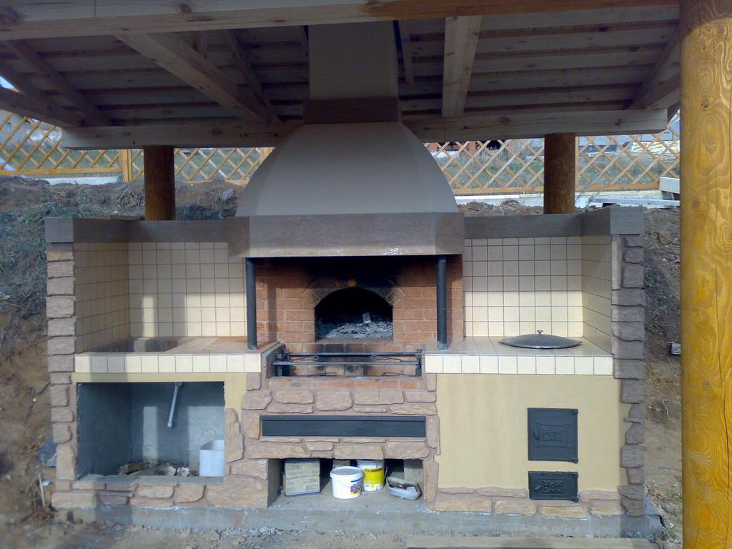 Как сделать дома барбекюшницу